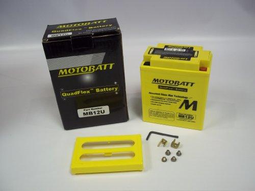 Preisvergleich Produktbild MOTOBATT quadflex MB12U Akku für eine Ducati 900 Mike Hailwood Replica (19791985)