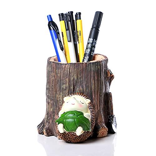 ハリネズミ ペン立て 卓上スタンド 鉛筆立て 鉛筆 定規 ペン立て ペン 立て かわいい おしゃれ 卓上 収納 ケース 大容量 学生文房具 収納 鉛筆立て 収納ケース 小物入れ