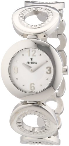 Festina Damen-Armbanduhr XS Trend Lady Analog Edelstahl F16546/1