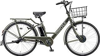 ブリヂストン 2021年モデル 電動自転車 ステップクルーズ カラー:T.Xマットカーキ ST6B41-KHA