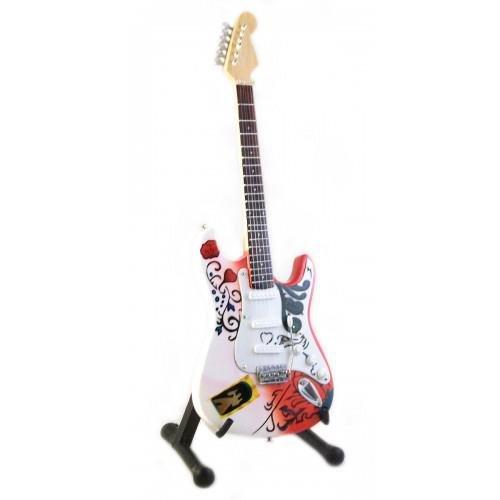Mini Gitarre JIMI HENDRIX Monterey Pop Anzeige GESCHENK