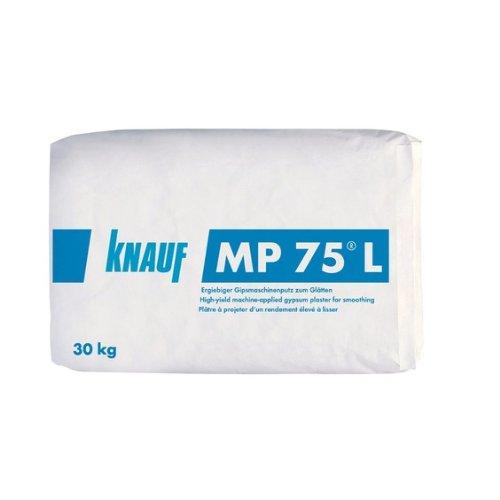 Knauf MP 75 L 30kg Gipsmaschinenputz zum Glätten Putzgips Gipsputz MP75 Putz Trockenbau