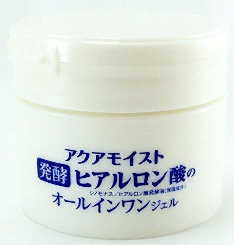 ジュジュ化粧品アクアモイスト『発酵ヒアルロン酸のオールインワンジェル』
