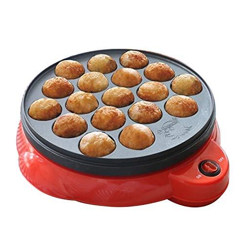 Elektrischer Takoyaki Maker, Paniyaram Pan, Appam Maker Octopus Ball Maschine, 18 Löcher, Antihaftbeschichtung, Eine Einfache Reinigung, 220V, 50/60 Hz, 650W