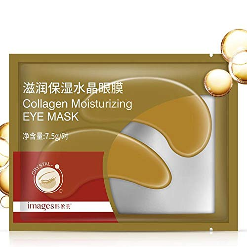 Crema para los ojos Eliminar los círculos oscuros Antiarrugas Hidratante Antienvejecimiento Anti-hinchazón Bolsas para ojos Beauty Face Lift Mascarilla reafirmante para ojos - Blanco