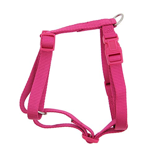 Zack & Zoey Nylon Harness 8-14in Pnk