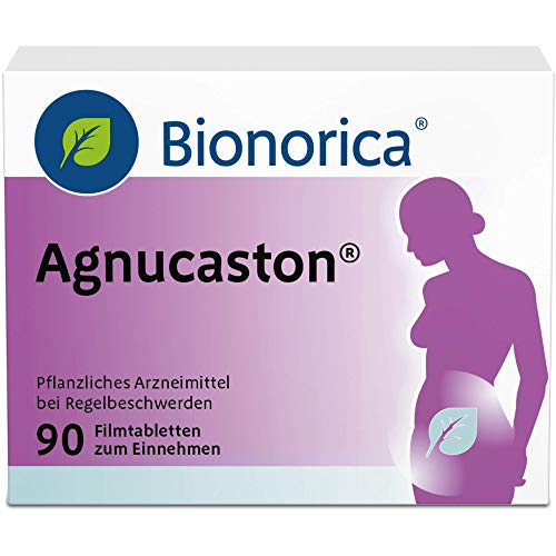 Agnucaston Tabletten bei Regelbeschwerden, 90 St. Tabletten