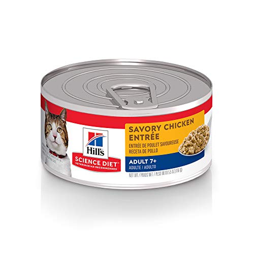 Hill's Science Diet Senior Wet Cat Food, Adult 7+...