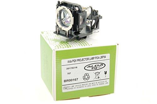 Alda PQ-Premium, Beamerlampe / Ersatzlampe für SANYO PLV-Z4 Projektoren, Lampe mit Gehäuse