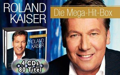 Roland Kaiser - Die Mega-Hit-Box - 4 CD-Box