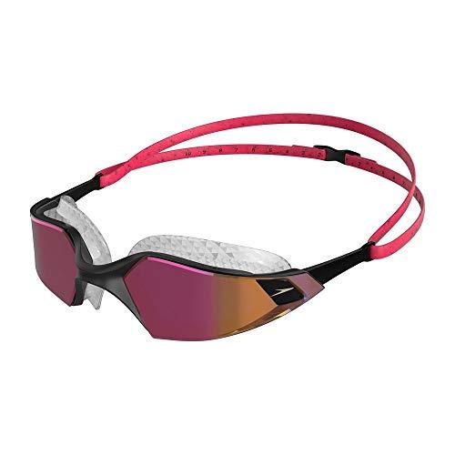 Speedo Schwimmbrille Aquapulse Pro Mirror, Schwimmbrille für Herren und Damen, , Einheitsgröße
