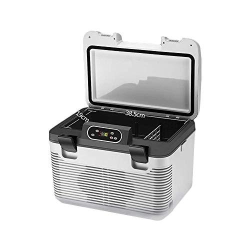 Sdesign Mini Nevera, Mini refrigerador eléctrico Compacto Enfriador y Calentador del refrigerador de Vino termoeléctrico Sistema portátil for el hogar/Oficina/Bar/Viajes
