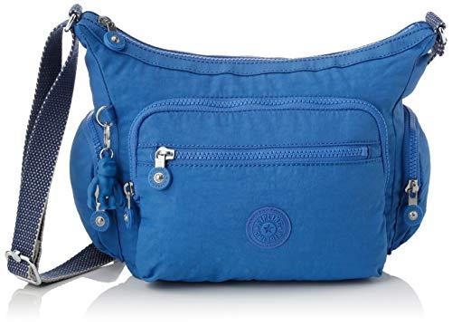 Kipling Gabbie S Women's Cross-Body Bag, Blue (Wave Blue), 29x22x16.5 Centimeters (B x H...