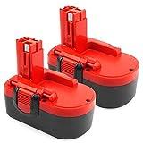 ADVNOVO BAT025 2 Pack 18V 3.5Ah Ni-MH Battery Compatible with Bosch BAT026 BAT160 BAT180 2607335277 2607335535 2607335536 2607335266 2607335735 PSR 18 VE-2 GSR 18 VE-2 PSB 18 VE-2 GSB 18