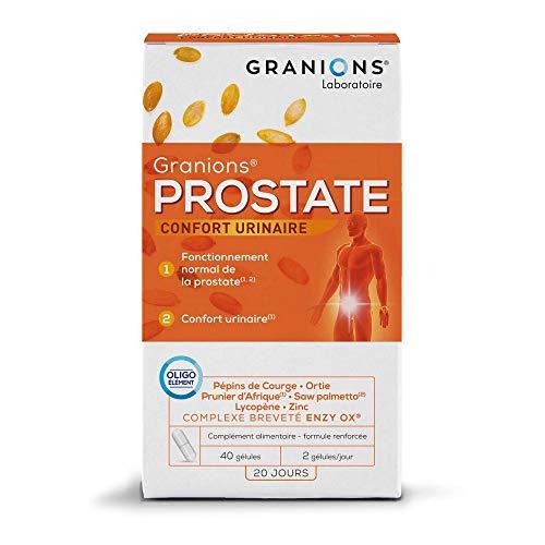 GRANIONS Prostate - 40 Gel = 20 Jours -...