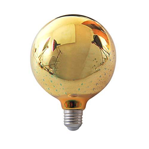 pu ran Vintage E27 3D LED Feuerwerk Lampe Birne Home Bar Nachtlicht Weihnachtsdekoration – G125