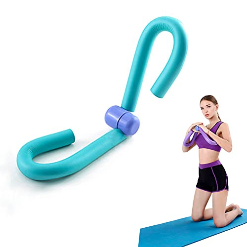 Thigh Master Workout Equipment,Thigh Trimmer Thin Body Thigh Slimmer,Arm Inner Thigh Toner,Thigh Exercise Home Gym Equipment,Arm Trimmers All in One Trainer Best for Loss Weight Thin Thigh (Blue)