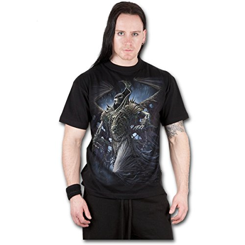 Winged skelton - T-shirt gothique dark fantasy - Homme-L