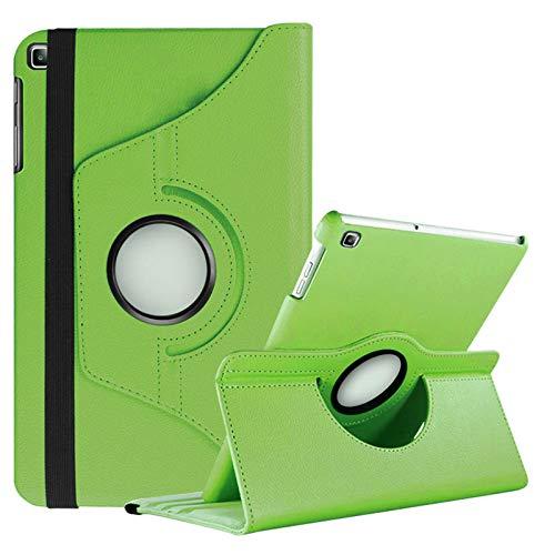 Lobwerk Hülle für Samsung Galaxy Tab A 10.1 SM-T510 10.1 Zoll Schutzhülle Smart Cover 360° Drehbar Grün