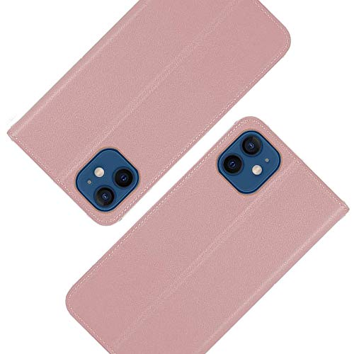 Funda para iPhone 11 Pro, funda tipo cartera de piel con tapa con carcasa interior de TPU de 5.8 pulgadas (2019) - Rose Glod