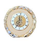Fengshop Orologio Digitale Camera da Letto European Bedside Creative Crystal Desk Clock Orologio da Tavolo Home Soggiorno Desk Clock Sveglia Digitale