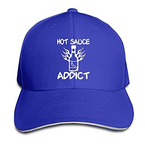 Cappelli da Pesca Tossicodipendente di Salsa Piccante Hip Hop Cappello Moda Baseball Cappello per Sport Regalo Hip Hop