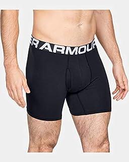 Under Armour 173509 Homme Original 2-pack Boxer Brief Sous-vêtements noir taille L