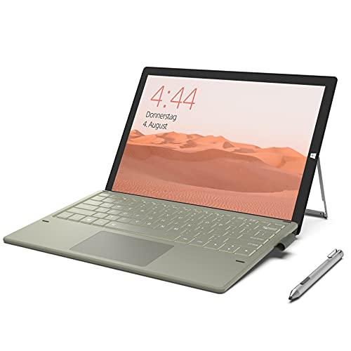 Jumper Ordenador portatil 12 pulgadas Intel i7-7Y75, 8 GB + 256 GB SSD, tablet PC 2 en 1, pantalla táctil IPS FHD 2160x1440, HD Graphics 615, Bluetooth 4.2, WLAN, ultrabook Win 10 Home portatil i7
