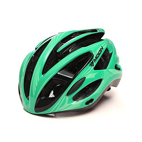GROSSARTIG Cycling Helmet Goggles Riding Mountain Bike Road Men and Women Cycling Sports Equipment Custom Bicycle Helmet. (Color : 9, Size : L)