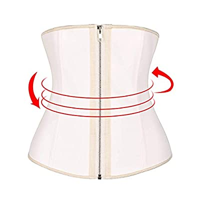 Amazon - Save 20%: IMUZYN Waist Trainer for Women Latex Corset Cincher Training Weight L…