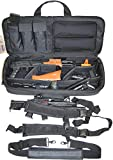 Explorer Mojo Tactical Rifle Case – AR15 Case with Pockets for Magazines,...