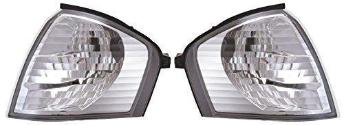 indicateurs avant clair Chrome Crystal-look Paire pour Mercedes W202 94–99 – On