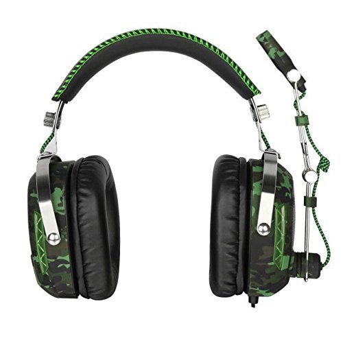 SADES SA926T Xbox One Headset Surround Sound Over-Ear Headphones, Gaming Headsets for Xbox One/PC/Mac / PS4 / Phone/Laptop