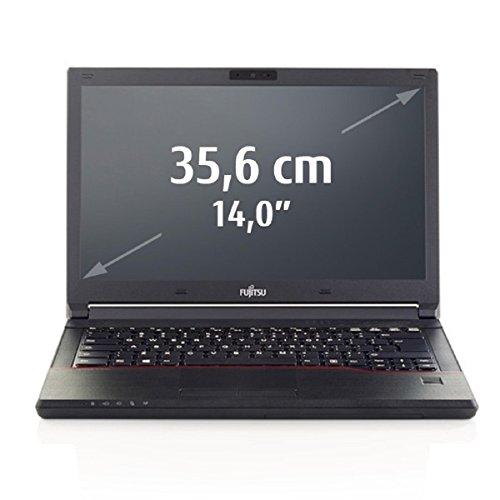Fujitsu LIFEBOOK E546 VFY:E5460M85DODE 35,6 cm (14 Zoll) Laptop (Intel Core i5 6200U, 4GB RAM, 500GB HDD, Win 10 Home) schwarz