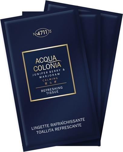 Kölnisch Wasser 4711 Damendüfte Acqua Colonia Refreshing Tissues Lemon 10 Stk.