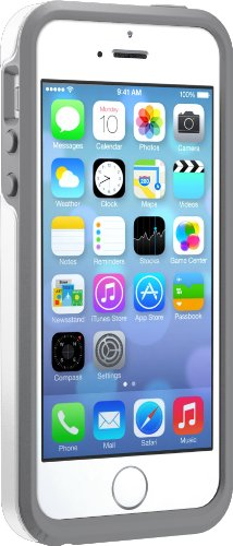 OtterBox SYMMETRY SERIES Case for iPhone 5/5s/SE - Retail Packaging - GLACIER (WHITE/GUNMETAL GREY)