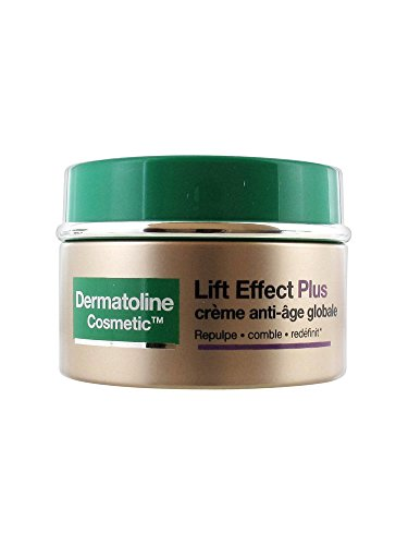 Dermatoline Cosmetic Lift Effect Plus - Crema antiedad global para pieles maduras normales, 50 ml