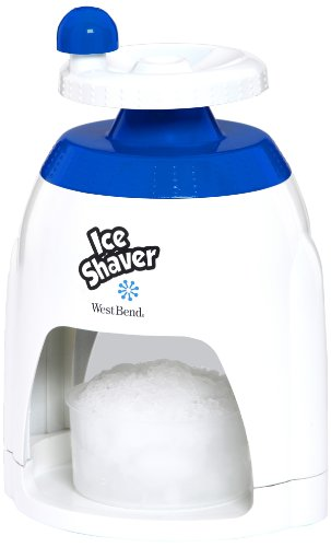 West Bend SIT12317 Manual Ice Shaver (Discontinued by Manufacturer)