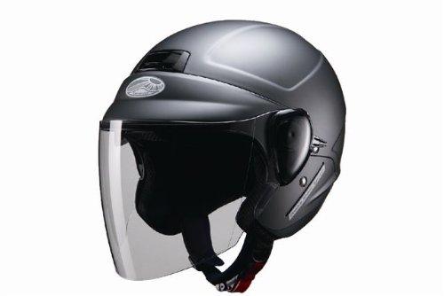 マルシン工業 セミジェットヘルメット SAFIT DS-1 マッドガンメタ XLサイズ(60~61CM未満)