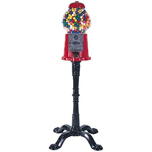 King 15' Classic Gumball Machine with Stand