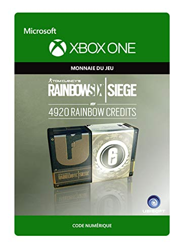 Tom Clancy's Rainbow Six Siege Currency pack 4920 Rainbow credits   Xbox One - Code jeu à télécharger