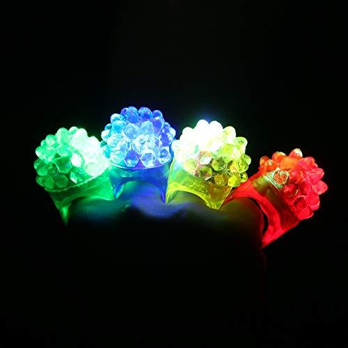 Beyond Dreams® Leuchtringe   Mitgebsel Geburtstag   bunt   Disco Hingucker auf jeder Party (10 Ringe)