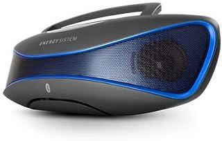 Energy Sistem Music Box BZ6 - Altavoz con Bluetooth y Display retroiluminado (2.1 estéreo portátil, 12 W de Potencia Real, Bluetooth 4.0, Lector USB/SD, Radio FM, Audio-In) Color Negro