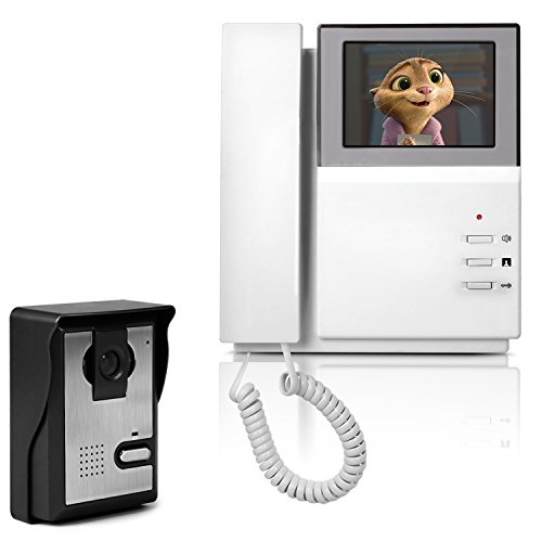 Videocitofono Campanello 4,3', YOKKAO Monitore...
