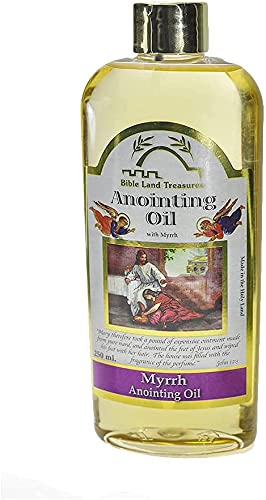 Primavera Nahal Biblia Lands Treasure Unción aceite para oración bendición aceite de alegría   Mirra 250 ml