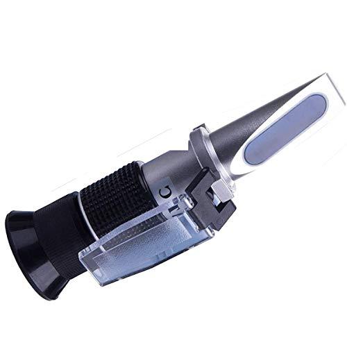 ZffXH Miel jarabe de arce Brix Refractómetro Brix 58-90 Brix 10-33 medidor de humedad/sacarosa casera elaboración de azúcar Aichose hidrómetro/suministro de apicultura ATC
