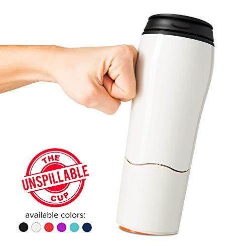 Mighty Mug Double Wall Plastic Travel Mug (Cream, 16oz)