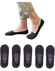 靴下 メンズ フットカバー くるぶし靴下 抗菌防臭 吸汗速乾 5足セット 24-28㎝