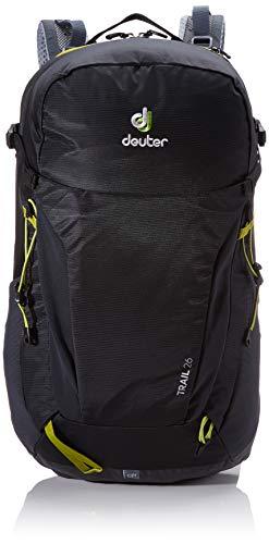 Deuter Unisex-Adult Trail 26 Rucksack, Black-Graphite, 55 x 30 x 20 cm, 26 L