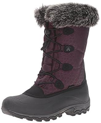 Kamik Women's Momentum Snow Boot, Burgundy, 6 M US